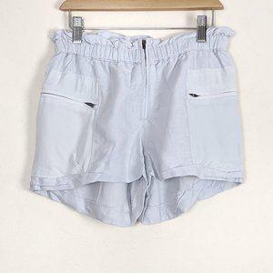 Aritzia Wilfred Paradis Linen Silk Paperbag Shorts